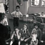 Young Children Listening to Teacher