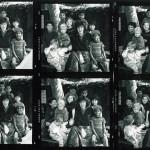Photo stills of kids sitting around a teacher