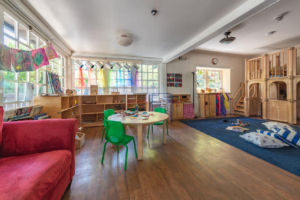 Interior of Children's School classroom