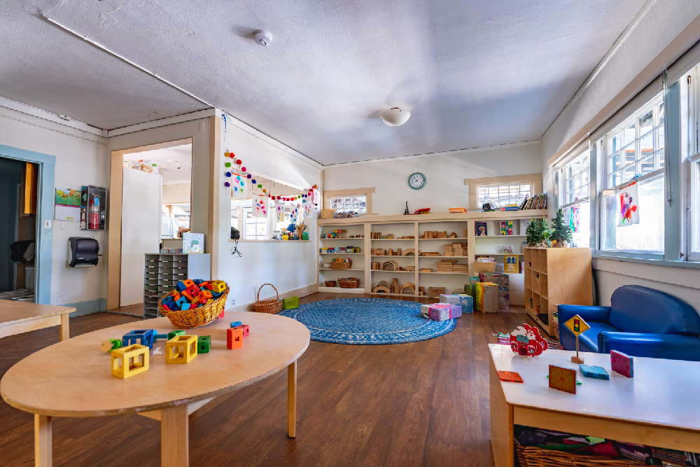 Interior of one of our classrooms